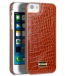Genuine Royal Leather Snap Cover For IPhone SE - Royal Gold