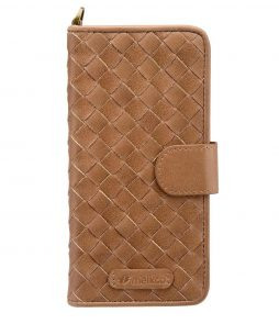 """Melkco Premium Cow Leather Reinvention Series Book Case (Ver.2) for Apple iPhone 6s Plus / 6 Plus - 5.5"""" (Brown Wax)"""