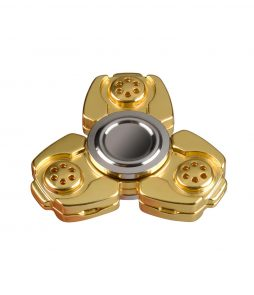 i-mee CKF CNC Metal Alloy Tri-Bar Fidget Spinner