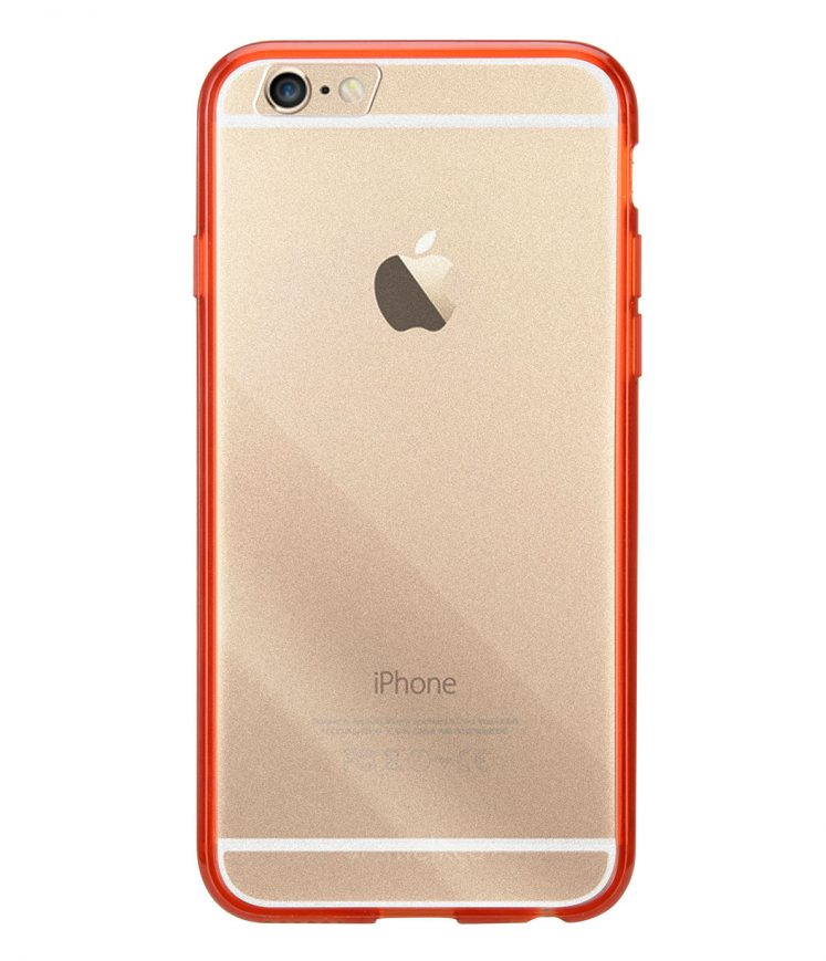 "Melkco PolyUltima Cases for Apple iPhone 6 (4.7"") - Transparent Red"