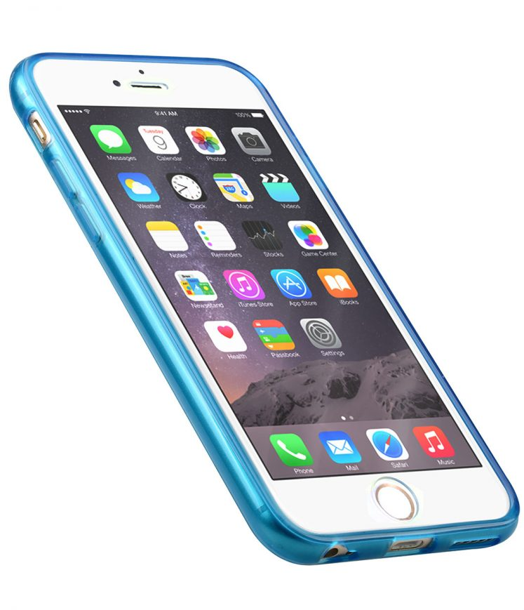 "Melkco PolyUltima Cases for Apple iPhone 6 (4.7"") - Transparent Blue"