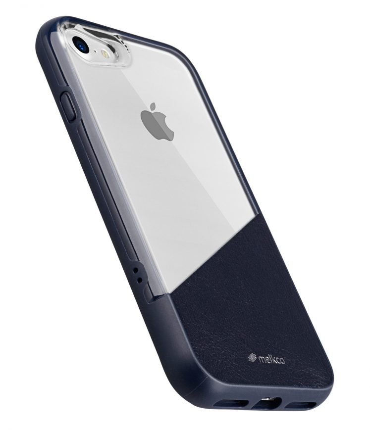"Melkco Kubalt Series Edelman Case for iPhone 7 / 8 (4.7"") - (Blue / Blue)"