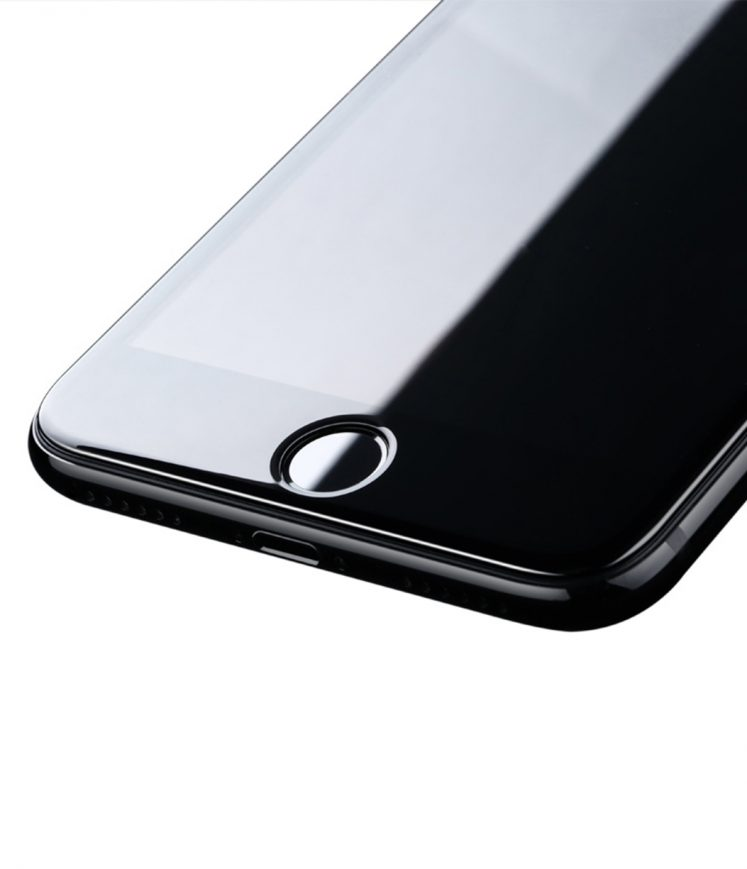 Benks X Pro+sapphire coating for iphone7,0.3mm,3D full covered-(Black)