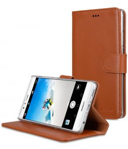 Melkco Premium Genuine Leather Case for Huawei P9 Plus - Wallet Book Type With Stand Function
