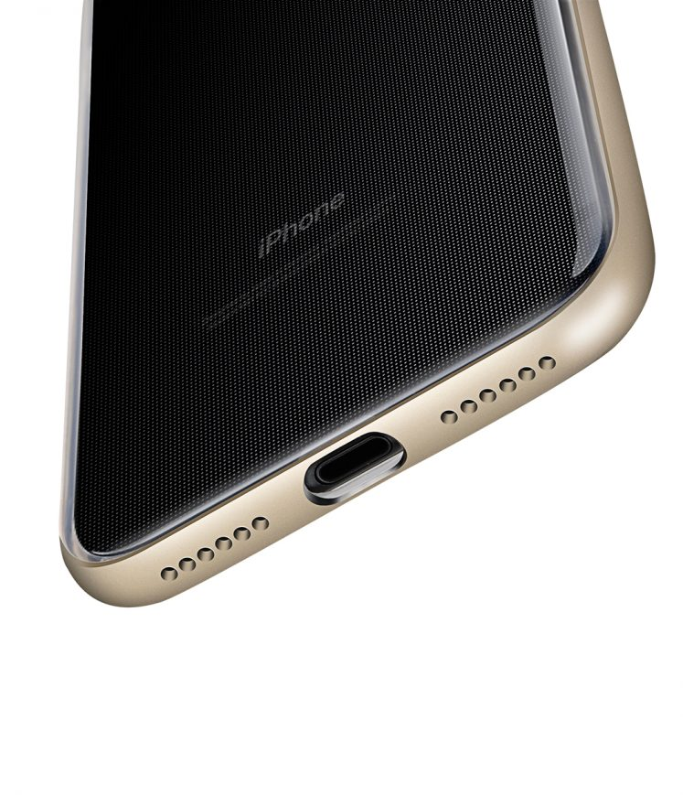 "Dual Layer PRO case for Apple iphone7 / 8 (4.7"") - Gold, Gold"